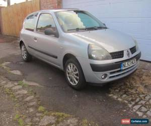 Classic 2003 53 Renault Clio 1.2 16v Extreme, Silver 3dr Hatch for Sale
