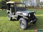 1952 Willys WILLYS JEEP M38 for Sale