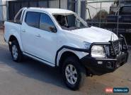 2015 NISSAN NAVARA DUAL CAB D23 4KMS NP300 TURBO DIESEL 4X4 DAMAGED EXPORT FARM  for Sale