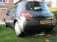 Renault Megane 1.6vvt 56 plate spares or repair no reserve for Sale