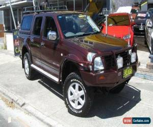 Classic 2003 Holden Rodeo RA LT (4x4) Burgundy Automatic 4sp A Crewcab for Sale