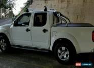 Nissan Navara D40 STX Dual Cab 4 dr 2010 Auto 4x4 2.5 DT for Sale