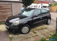 Renault clio 1.2 16v Black, 5 Door Hatchback for Sale