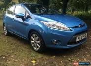 2010 FORD FIESTA ZETEC TDCI. S.D+1 FAMILY OWNED FROM NEW. FULL FORD HISTORY. for Sale