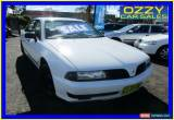 Classic 2000 Mitsubishi Magna TJ Executive White Automatic 4sp A Sedan for Sale