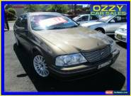 2000 Ford Fairlane Auii Ghia 75th Anniversary Sand Storm Automatic 4sp A Sedan for Sale