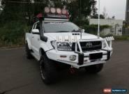 2008 Toyota Hilux KUN26R MY08 SR5 White Manual 5sp M Utility for Sale