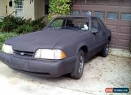 1989 Ford Mustang 2 Door Coupe for Sale