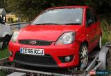 Classic FORD FIESTA 1.6 ZETEC S,DAMAGED for Sale
