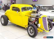 1934 Ford Hot Rod . Yellow Manual M for Sale