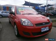 2007 Ford Fiesta WQ LX Red Automatic 4sp A Hatchback for Sale
