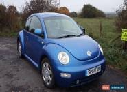 VW BEETLE 2001, 2.0 PETROL **SERVICE HISTORY** for Sale