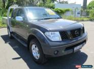 2005 Nissan Navara D40 ST-X Grey Manual 6sp M 4D UTILITY for Sale