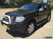 2006 Nissan Pathfinder R51 TI (4x4) Black Automatic 5sp A Wagon for Sale