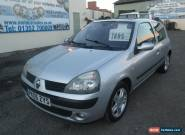 2005 RENAULT CLIO DYNAMIQUE 1.2 16V SILVER for Sale