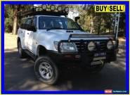 2003 Nissan Patrol GU III ST-L (4x4) White Manual 5sp M Wagon for Sale