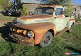 Classic 1952 Ford Other Pickups F3 for Sale