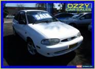 2000 Ford Festiva WF Trio White Manual 5sp M Hatchback for Sale