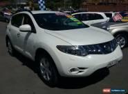2009 Nissan Murano Z51 TI White Automatic A Wagon for Sale