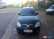 2004 VAUXHALL VECTRA ELEGANCE 2.2 PETROL 16V BLACK for Sale