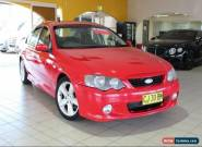 2003 Ford Falcon BA BA XR6 Sedan 4dr Man 5sp 4.0i Red Manual M Sedan for Sale