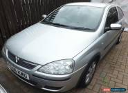 2006 VAUXHALL CORSA SXI+ 16V S-A SILVER MANUAL for Sale