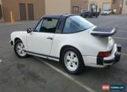1988 Porsche 911 carrera for Sale
