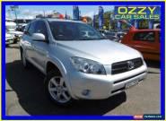2008 Toyota RAV4 ACA33R Cruiser (4x4) Silver Automatic 4sp A Wagon for Sale