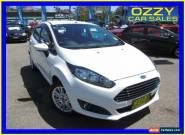 2014 Ford Fiesta WZ Trend White Automatic 6sp A Hatchback for Sale