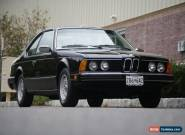 1984 BMW 6-Series Base Coupe 2-Door for Sale