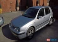 VW GOLF 1.6 Sport 2002 52 *Runner* Spares or Repair MOT May 2017  for Sale