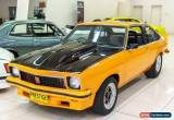 Classic 1976 Holden Torana LX SS Papaya Orange Manual 4sp M Liftback for Sale