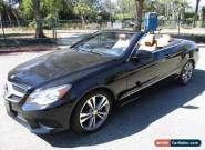 2014 Mercedes-Benz E-Class Base Convertible 2-Door for Sale