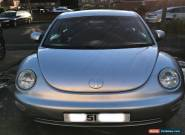 2002 (51) 2.0 petrol Silver VW Beetle for Sale