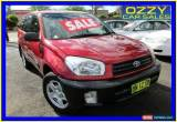 Classic 2001 Toyota RAV4 ACA21R Edge (4x4) Red Automatic 4sp A Wagon for Sale