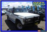 Classic 1989 Toyota Landcruiser (4x4) White Manual 5sp M Wagon for Sale