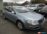 2006 VOLKSWAGEN PASSAT ESTATE SE 2.0 TDI BLUE for Sale