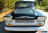 Classic 1958 Chevrolet Other Pickups Stepside for Sale