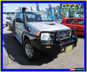 Classic 2006 Toyota Hilux KUN26R SR (4x4) Silver Manual 5sp M Extracab for Sale