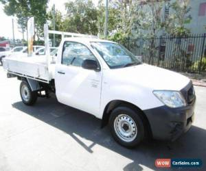 Classic 2009 Toyota Hilux TGN16R 09 Upgrade Workmate White Automatic 4sp A Cab Chassis for Sale