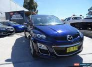 2010 Mazda CX-7 ER MY10 Luxury Sports (4x4) Dark Blue Automatic 6sp A Wagon for Sale
