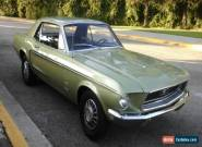 1968 Ford Mustang 2 DOOR for Sale