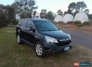 2007 Honda CRV MY07 SUV, Black, 6sp manual for Sale