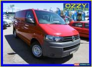 2011 Volkswagen Transporter T5 MY10 103 TDI LWB Low Red Automatic 7sp A Van for Sale