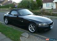 2007 ( 07 REG ) BMW Z4 2.0 SE CONVERTIBLE BLACK for Sale