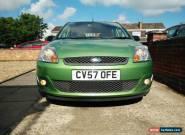 2007 Ford Fiesta 1.4 Zetec Climate Green 5 Door for Sale