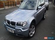 BMW X3 2.5i sport 2004 54 full history for Sale