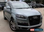 2007 Audi Q7 MY07 Upgrade 3.0 TDI Quattro Grey Automatic 6sp A Wagon for Sale