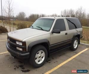 Classic Chevrolet: Tahoe 2 door for Sale