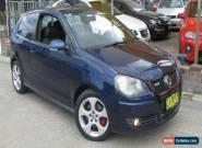 2007 Volkswagen Polo 9N MY08 Upgrade GTi Blue Manual 5sp M Hatchback for Sale